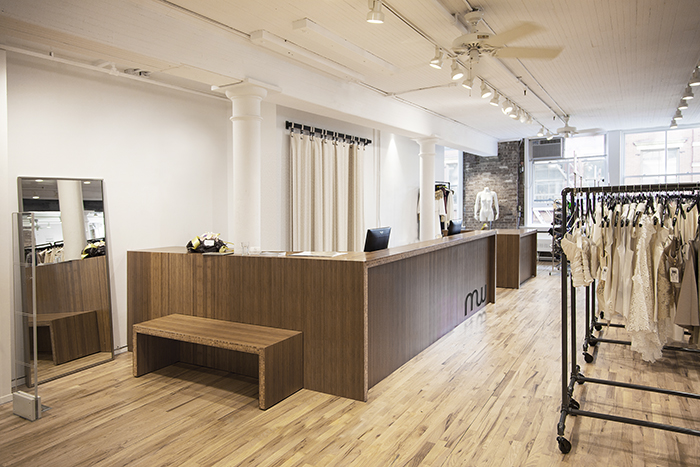 Fashion retail design project in Soho