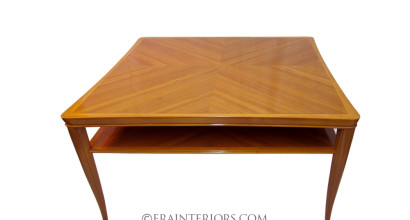 Art Deco teak coffee table