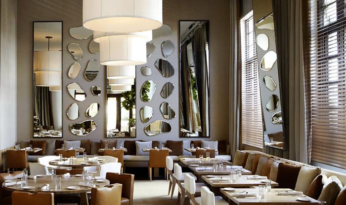 Upscale Italian Restaurant Seating