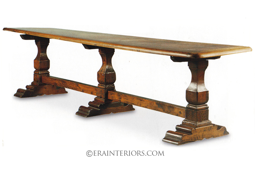 French era interiors for French country dining table