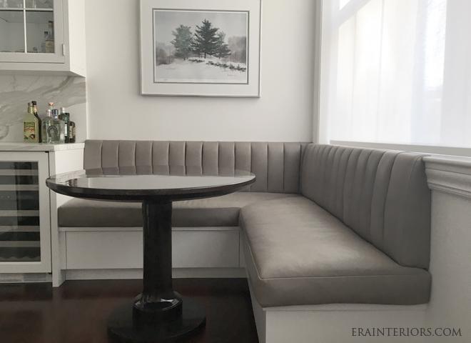 Kitchen banquette by ERA interiors