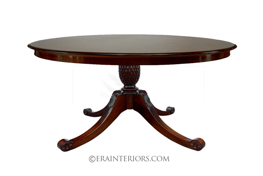 Round pedestal dining tables best dining table ideas - Dining table images ...