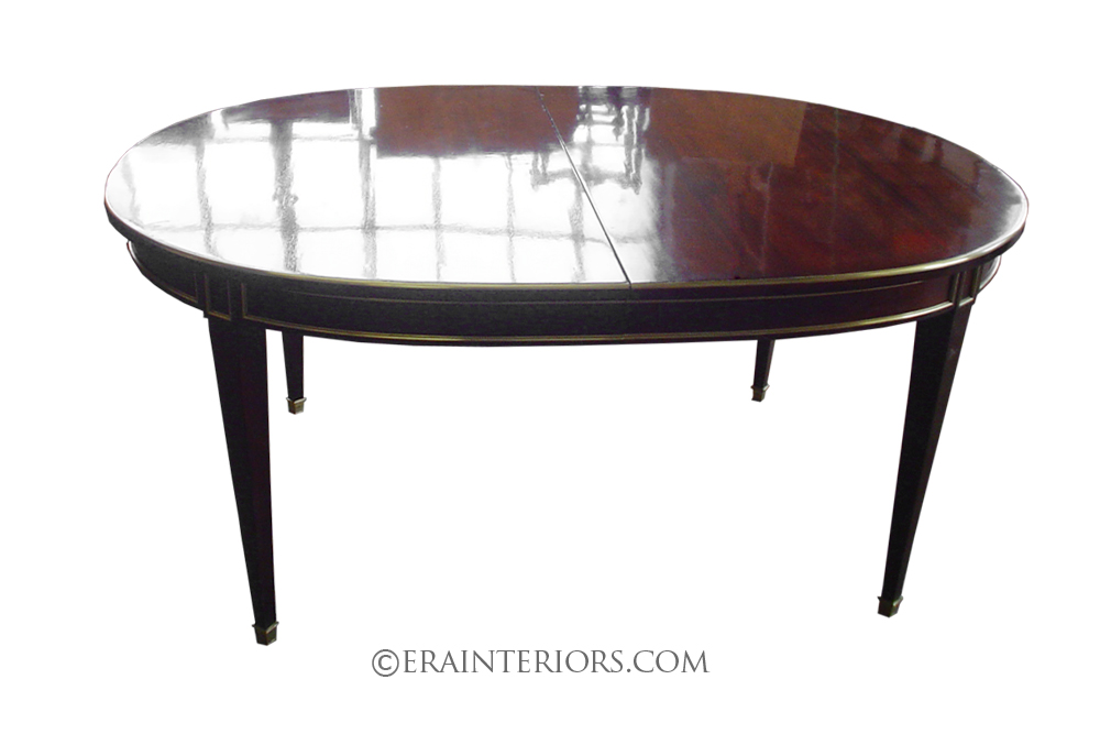 Sheraton Style Furniture Sheraton Oval Mahogany Dining Table – ERA Interiors