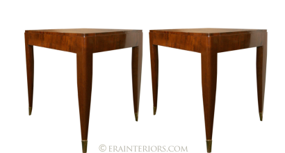 French Art Deco side tables