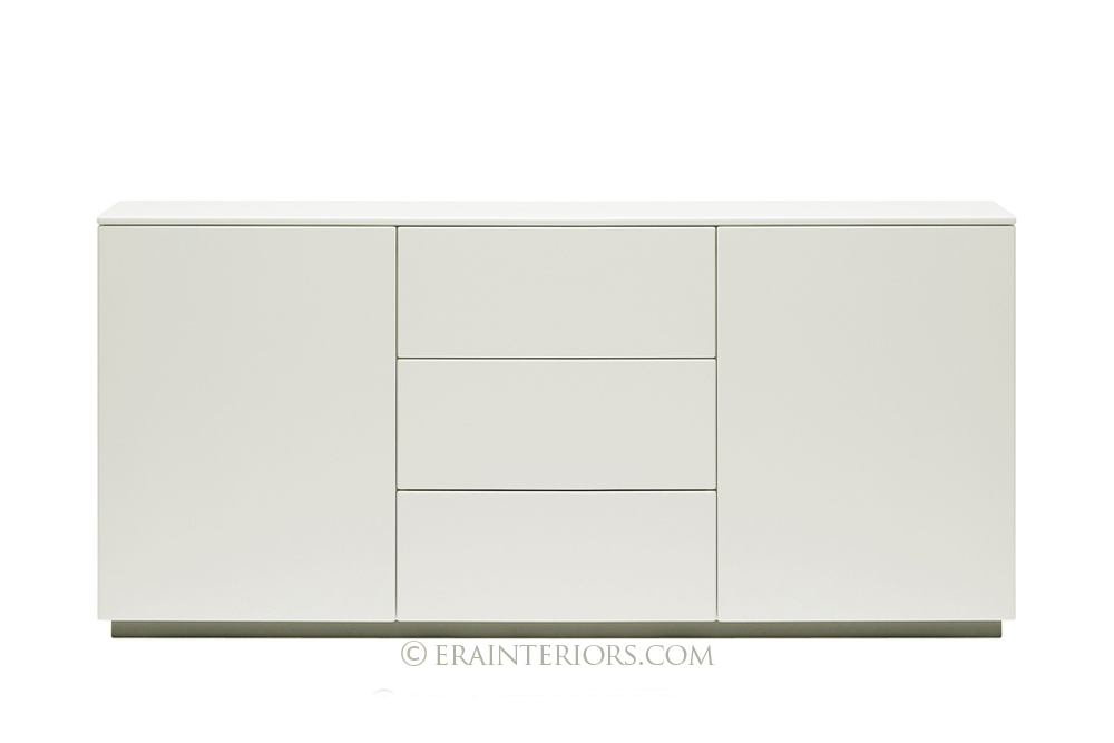 White Lacquer Cabinet baron deco bar cabinet - white lacquer | west elm