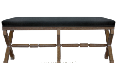 X Base Oak Bench