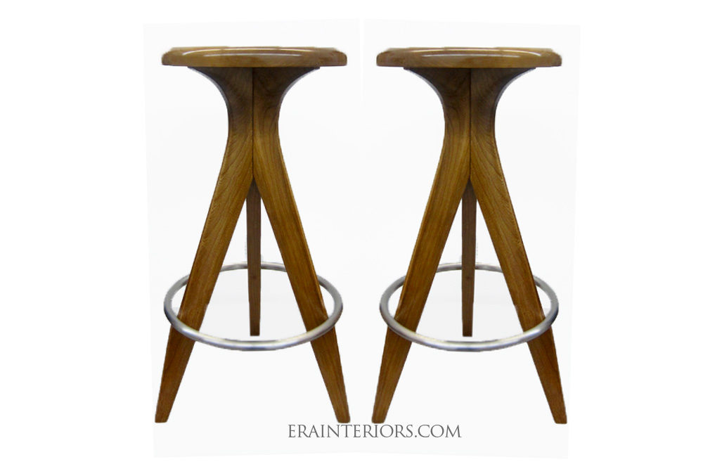 Pleasing Mid Century Modern Kitchen Stools Era Interiors Pabps2019 Chair Design Images Pabps2019Com